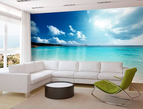 3d фотообои на стену фото