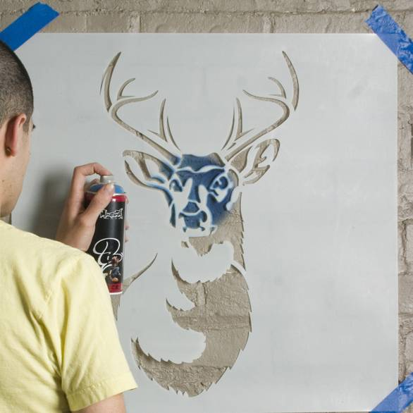Как из цветного рисунка сделать трафарет 289