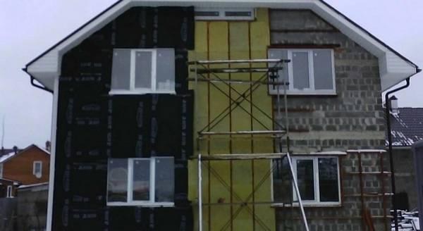 Штукатурка фасада дома цена за квадратный метр